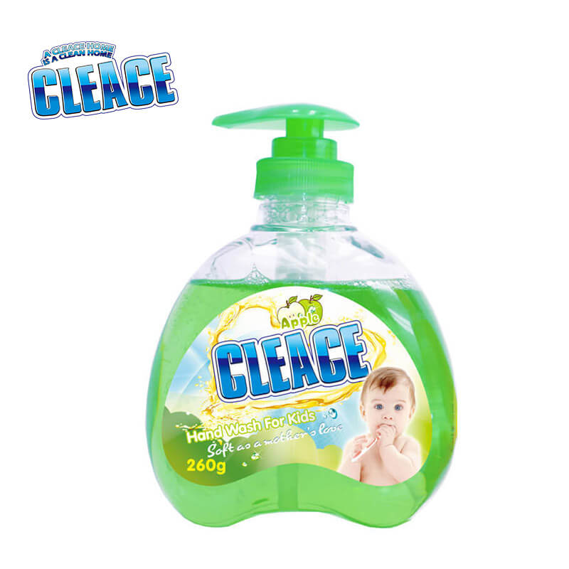 Hand Washing Liquid For Baby & Kids Apple CLEACE