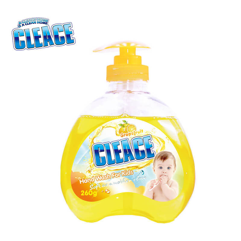 Hand Washing Liquid For Baby & Kids Grapefruit CLEACE