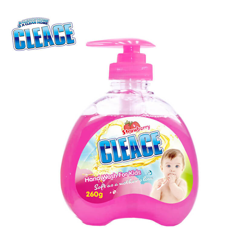 Hand Washing Liquid For Baby & Kids Strawberry CLEACE