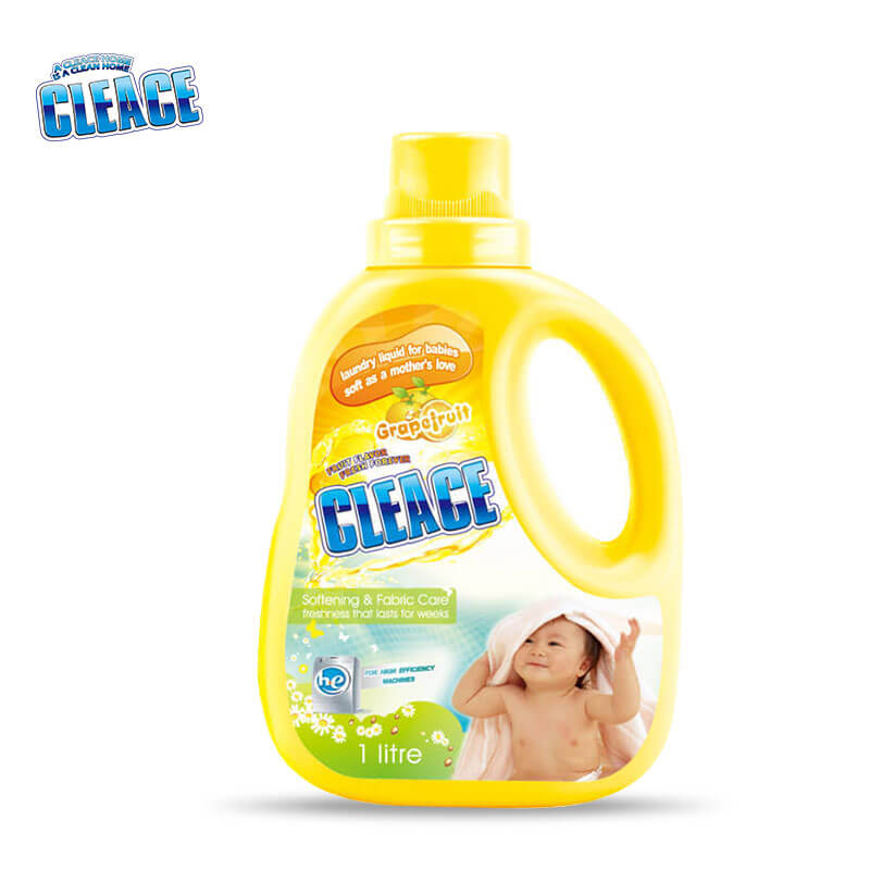 Laundry Liquid For Baby & Kids Grapefruit CLEACE