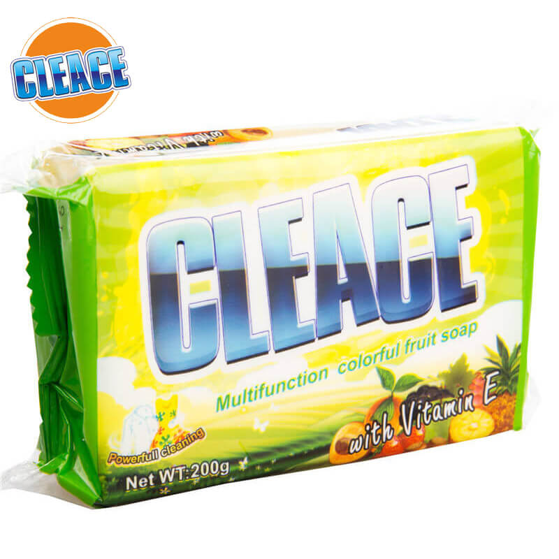 Double-Color Laundry Soap CLEACE
