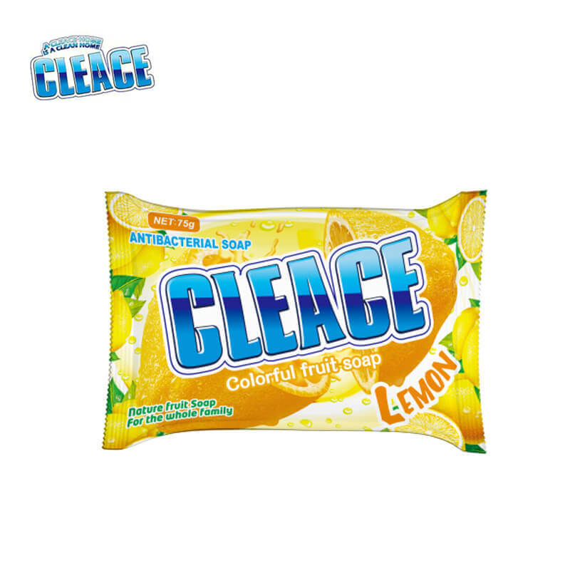 Lemon Perfumed Beauty Soap Bags-Packed CLEACE